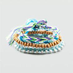 Full Tilt 4 Piece Friendship Bracelets