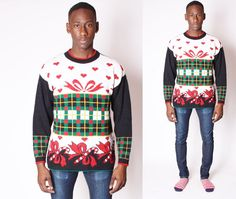 Ugly Christmas Sweater  Vintage Christmas Sweater  by EmmettBrown, $38.00