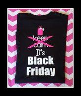 Black Friday Tee... back