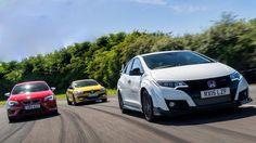 TURBO PORTAL - VIDEO: Civic Type-R Vs. SEAT Leon Cupra 280 Vs. Renault Megane RS TROPHY