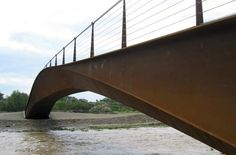 Anta Ingeniería Civil | Projects | Vía Verde Footbridge over the river Cidacos in Calahorra