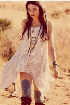 Boho chic for coachella