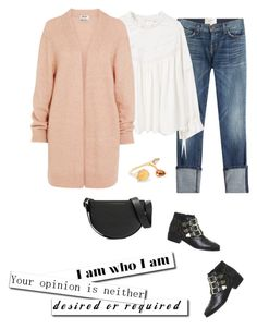 """""""Friday"""" by mrs-box ❤ liked on Polyvore featuring Current/Elliott, MANGO, Acne Studios, Office, Fernando Jorge, Victoria Beckham, MyStyle and fashionoverforty"""