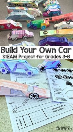 Test Track: A STEAM Project Based Learning Experience - Let your and grade students integrate math, science, art, and engineering with this Stem Projects, Science Fair Projects, Science Experiments Kids, Teaching Science, Science Education, 6th Grade Science, Stem Science, Science Art, Engineering Science
