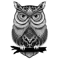 Zentangle owl - animal mandala drawing mandala designs - art inspiration в Owl Tattoo Drawings, Animal Drawings, Art Drawings, Owl Tattoos, Drawing Art, Drawing Ideas, Mandala Drawing, Mandala Art, Animal Mandala Tattoo