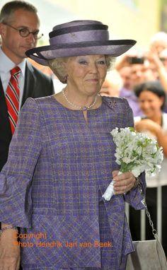 Maxima leent tas uit aan koningin Beatrix | ModekoninginMaxima.nl