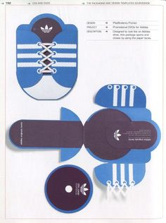 Adidas Sneaker Template Promotional dvds for adidas