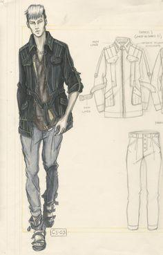 Illustration & Design by Otis Fashion Alumni for Sean John | Otis Fashion