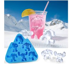 Abominable Snowman Ice Cube Tray