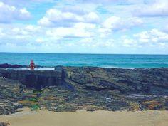 Muito amor por você Ozz  #australia #snapperrocks #oz #nature #ocean by larissada