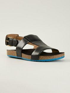 MARC JACOBS - slingback sandals 6