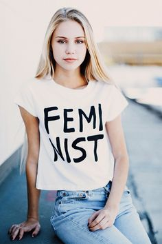 Kinda ironic that Brandy Melville is selling a 'feminist' top...