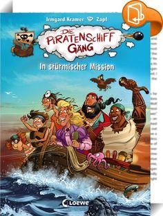Die Piratenschiffgäng 3 - In stürmischer Mission    :  Tim Buktu und die Piratenschiffgäng sind ratlos: Der König möchte einen Sturmsack zum Geburtstag, aber nicht einmal Kapitän Barti Blu weiß, was das ist. Noch dazu macht sich ihr Erzfeind Admiral Hammerhäd ebenfalls auf die Suche, denn er will sich beim König beliebt machen. Unterwegs geraten beide Piratenmannschaften in einen heftigen Orkan - welche kann am Ende die Mission Sturmsack erfüllen?   In der Kinderbuch-Reihe Die Piratens...