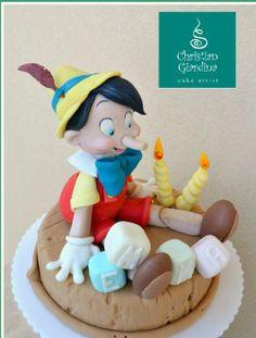 Pinocchio - by christiangiardina @ CakesDecor.com - cake decorating website