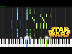 Star Wars Main Theme - Star Wars [Piano Tutorial] (Synthesia) - YouTube