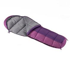 Wenzel Boys Backyard 30° Mummy Sleeping Bag Outdoor Store [gallery]  Perfect for when it gets chilly at night, the Wenzel Backyard Mummy Sleeping Bag is rated to 30 degrees F and features a cozy curved hood. This classic mummy sleeping bag tapers on the bottom, which adds to the warmth. It is filled with non-allergenic Insul-Therm and boasts a self-repairing coil zipper. This striped mummy sleeping bag comes in color options and includes a…
