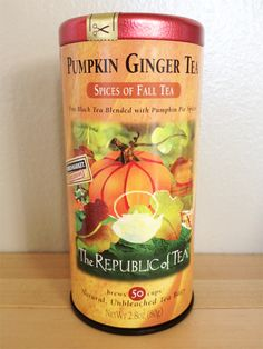 The Republic of Tea Pumpkin Ginger Tea