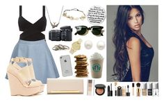 {Walking in the street and go to Starbucks with the Boys :D} by betty220285 on Polyvore featuring polyvore fashion style Betsey Johnson Yves Saint Laurent With Love From CA Reeds Jewelers ASOS Ray-Ban Stila Witchery NARS Cosmetics Estée Lauder Tom Ford Christian Dior Nikon Bobbi Brown Cosmetics women's clothing women's fashion women female woman misses juniors OneDirection starbucks Street
