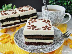 Ala piecze i gotuje: Ciasto przekładane z herbatnikami