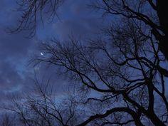 This Mornings Moon by Ken Groezinger