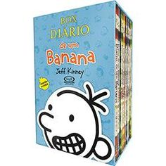 foto: Livro - Box - Diário de um Banana (8 Volumes)