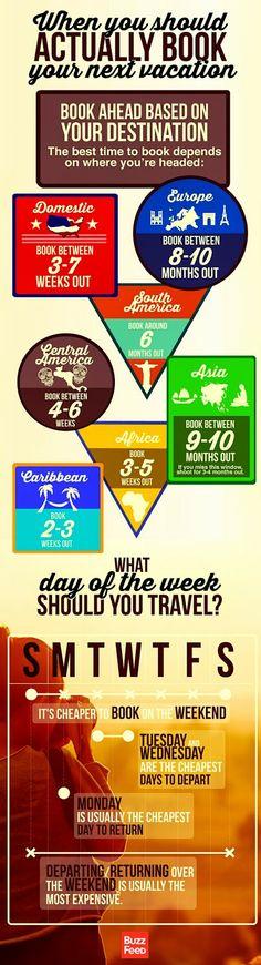 When Should You Actually Book Your Next Vacation? When Should You Actually Book Your Next Vacation