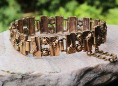 Vintage Bronze Bracelet Finland by RetroStilig on Etsy