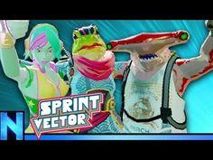 (1) VR High Speed Super PARKOUR! - SPRINT VECTOR - YouTube