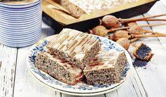 Upečiete bez váženia: Hrnčekový makový koláč s jablkami | DobreJedlo.sk