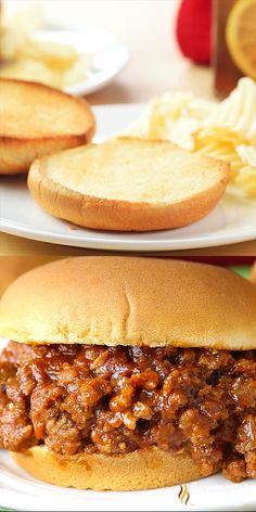 This Easy Sloppy Joe recipe is miles away from ordinary with a special ingredient added to really kick this simple recipe up a notch. This hearty meal is ready in just 15 minutes these can be on your table any night of the week! Crockpot Recipes, Cooking Recipes, Chicken Recipes, Dinner Crockpot, Casserole Recipes, Sloppy Joes Recipe, Sloppy Joe Recipe Pioneer Woman, Simple Sloppy Joe Recipe, Sloppy Joe Recipe With Brown Sugar
