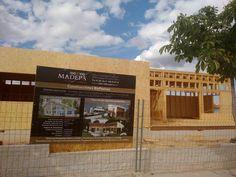 construccin casa de madera en villalbilla madrid obra de xmadera
