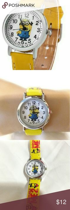 "Despicable me 2 children's watch Despicable me 2 children's watch.  7"" long. Stainless steel.  New. Accessories Watches"