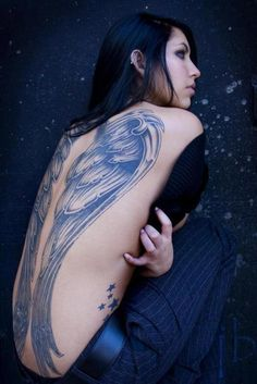 """If I am an angel, paint me with black wings."" - Anne Rice (The Vampire Armand)"