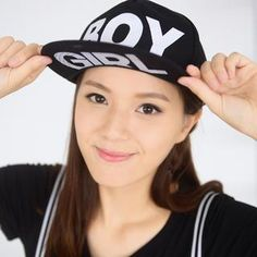"""Boy"" Print Baseball Cap from #YesStyle <3 59 Seconds YesStyle.com"