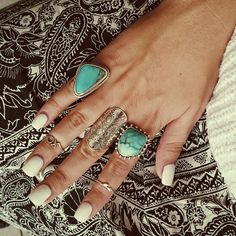 """- Check out the last of the Marley Rings, there is only one left in stock! xx -"""