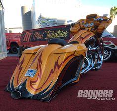SEMA 2014: The Best Harley-Davidson Custom Baggers                                                                                                                                                                                 More