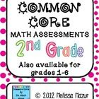 This document contains math assessments for EACH of the 25 different Common Core Math Standard. Each page contains one common core standard with ...