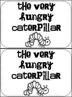 1221 best Book: The Very Hungry Caterpillar images on