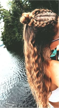 Formal Hairstyles For Long Hair, Easy Hairstyles For Long Hair, Teen Hairstyles, Pretty Hairstyles, Office Hairstyles, Stylish Hairstyles, Hairstyles Videos, Hairstyle Short, Hair Updo