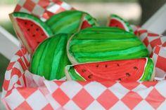 Watermelon Cookies #NationalSugarCookieDay