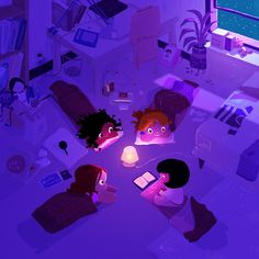 Sleep Over by Pascal Campion