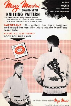 61 Best Vintage Mary Maxim images in 2019 | Cowichan sweater