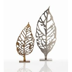 ARTERIORS Home Hyde Laser Cut Leaf Sculpture  Ideas for the structures we can offer with our Laser Cutting.