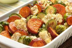 Maple Roasted Vegetable Medley Recipe from 5 Amazing Sweet Potato Recipes…