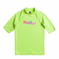 Roxy Girls Living Large Lime UV Swim Shirt - Click for more information and to buy