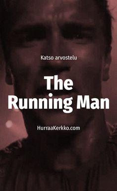 Arvostelussa Arnold Schwarzenegger -leffa The Running Man. https://hurraakerkko.com/2017/07/02/arvostelussa-the-running-man-1987/