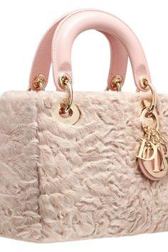 293a7a25692e Date  08 05 16 Note  light pink handbag made of fur with
