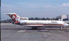 Alaska Airlines 727 1977