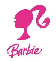 Barbie siluett och logga