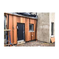 We got ours from the builders merchant that sourced it from Cranwood Industries. Just treated it in UV protection sealant 👍🏼 Builders Merchants, Garage Doors, Shed, Industrial, Outdoor Structures, Oil, Outdoor Decor, Backyard Sheds, Coops